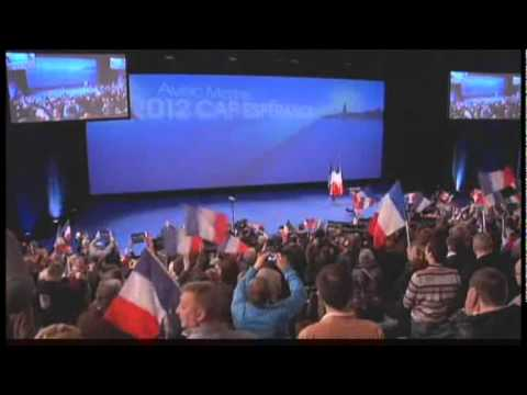 Entrée des Meetings de Marine Le Pen