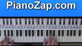 How To Play Where Are You - B.o.b On Piano Tutorial