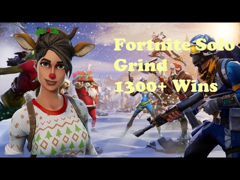 Fortnite - Season 7 Grind. Rip OG Christmas Skins. Solos.