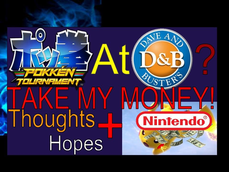 Pokken Tournament To Be Playable At Dave And Busters
