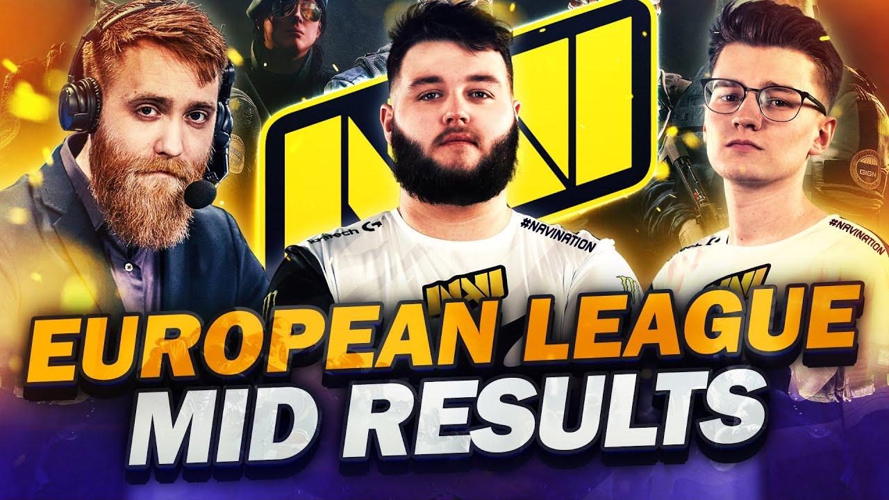 NAVI Doki and Kendrew on mid-European League results