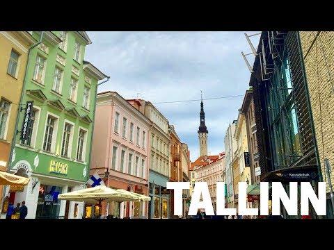 Exploring TALLINN, ESTONIA!