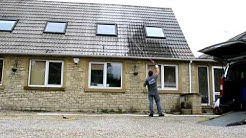 Roof cleaning, No pressure, no mess, just apply and rinse the Monty Solution .