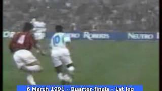 1990-91 European Cup: Olympique de Marseille Goals (Road to the Final)