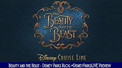 Sneak Peek at Disney Cruise Line's Beauty and the Beast