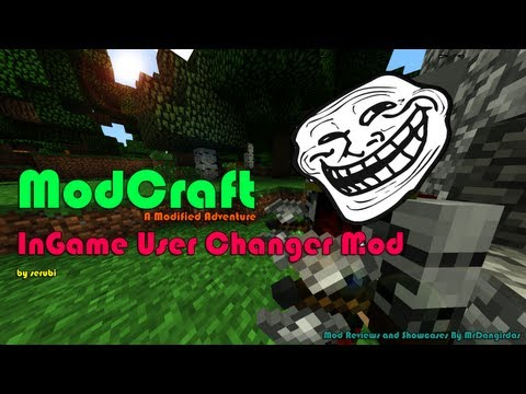 how to change account in game minecraft