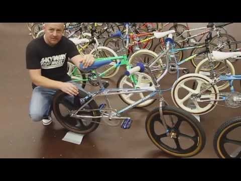 John Buultjens Haro BMX collection from 1982 to 1993