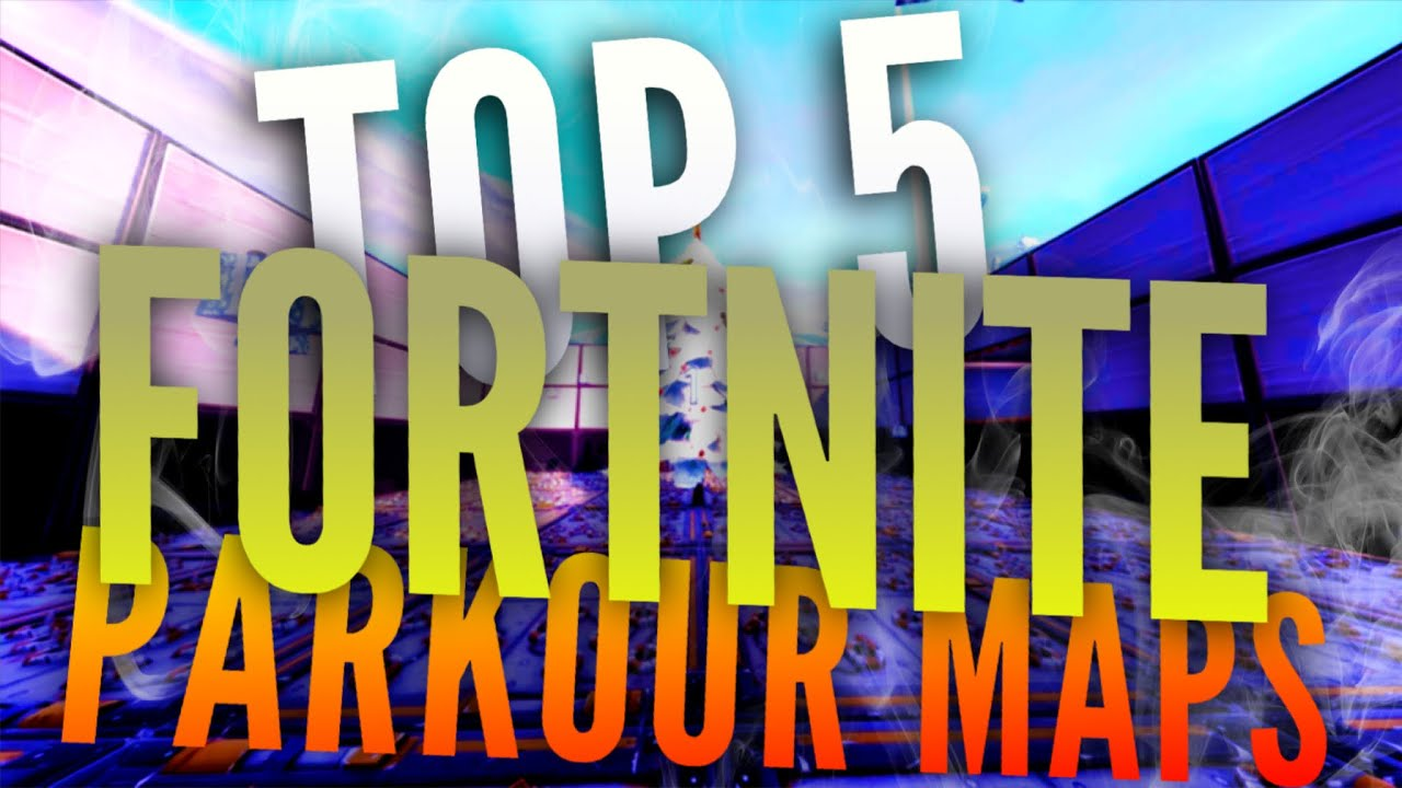 TOP 5 PARKOUR MAPS IN FORTNITE *MUST PLAY* (With Codes)