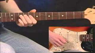 Eric Clapton Blues Guitar Turnaround: Sugar On Sunday