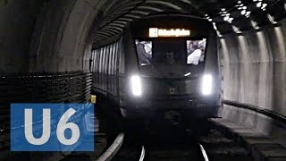 U-Bahn München // Futuristischer U-Bahnzug C2 auf der U6