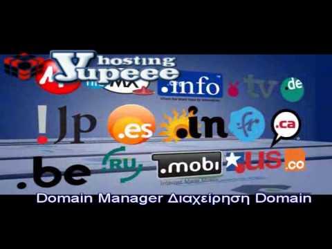 Κατοχύρωση domain names -Domain Manager