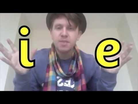 I E Split Digraph Mr Thorne Does Phonics Youtube