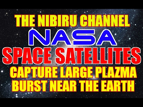 NASA SATELITES CAPTURE LARGE PLASMA BURST NEAR EARTH