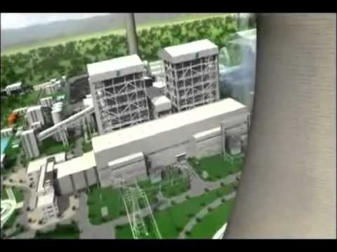 3D Animation of Coal Power Plant