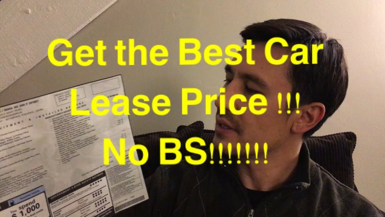 how to get best deal on a leased car every time no bs youtube. Black Bedroom Furniture Sets. Home Design Ideas