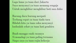 Kicir Kicir lagu D jakarta yang mendunia - Stafaband