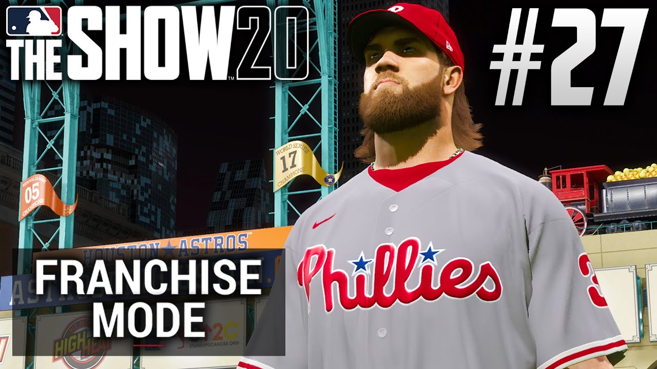 MLB The Show 20 Franchise Mode | Philadelphia Phillies | EP27 | BACK-TO-BACK? (World Series G1)