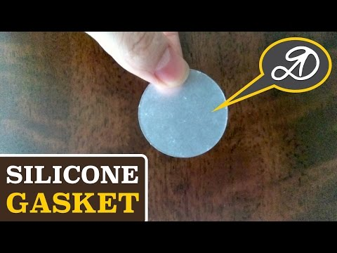 How to make a silicone gasket (membrane) DIY