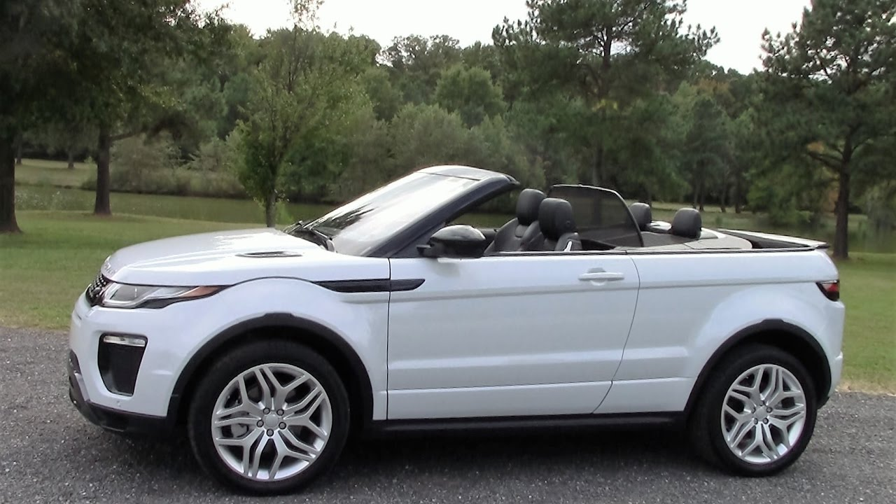 Range Rover Evoque Convertible Road Test Review By Drivin Ivan You