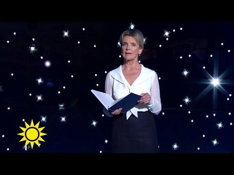 Stina Ekblad läser Nyårsklockan  Nyhetsmorgon TV4