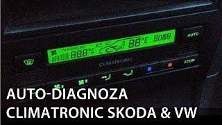 kalibracja i autodiagnoza climatronic škoda octavia superb volkswagen golf passat b5