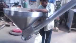 Screw Conveyor for Powder, Granules , Masala, Seed, Milk, tee