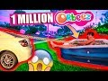 PULLING A POOL FULL OF 1 MILLION ORBEEZ ON THE HIGHWAY!