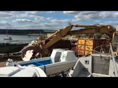Yacht and Fishing Boat Scrap
