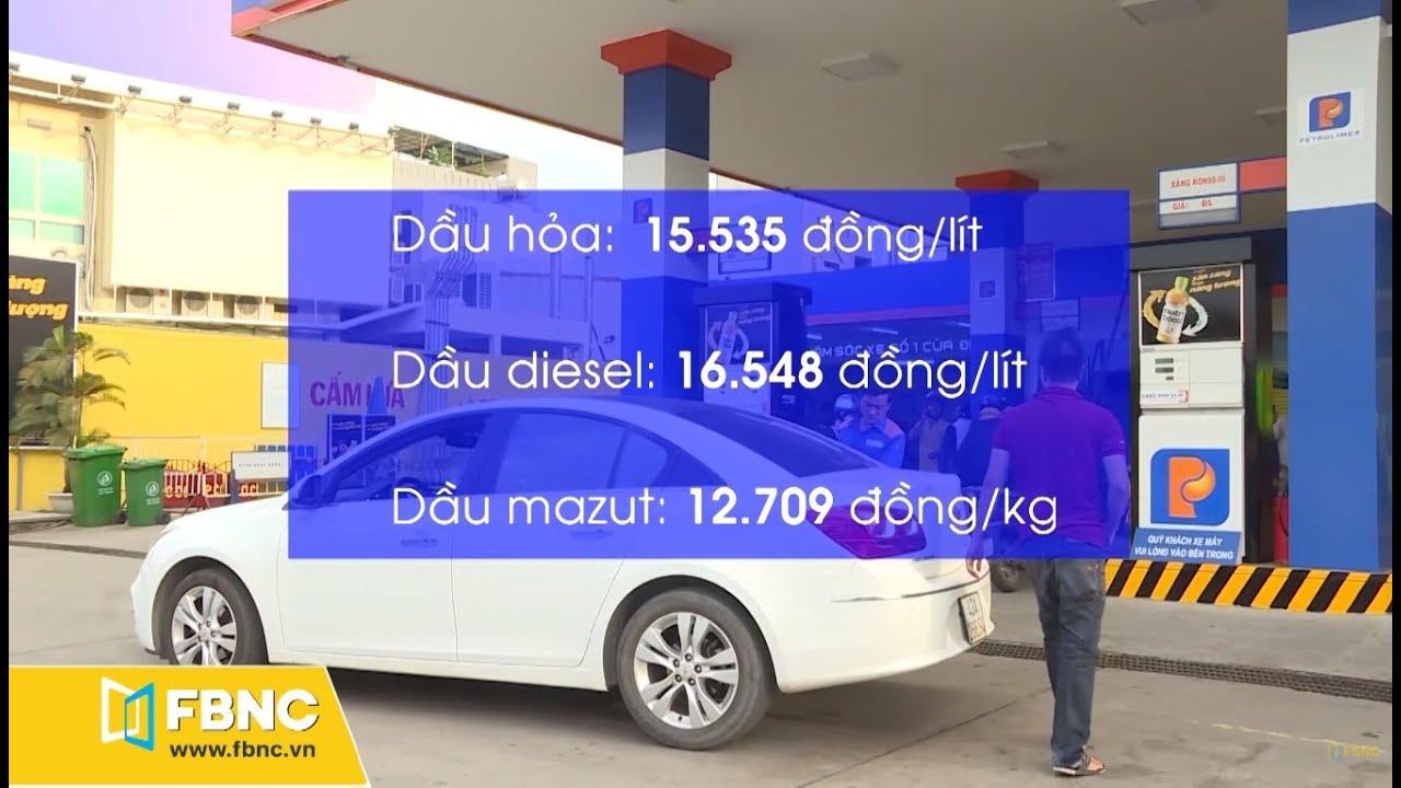 Giá bán lẻ xăng dầu trong nước giảm | FBNC TV Today Life 16/01/20