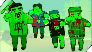 ОГРОМНЫЙ ЗОМБИ НА ФАБРИКЕ - Игра ZIC  Zombies in City # 5 Игры андроид