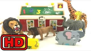 Kid -Kids -ZOO Animal Toy Surprises/Melissa And Doug Wooden Puzzle Learning/Fun Children Learning