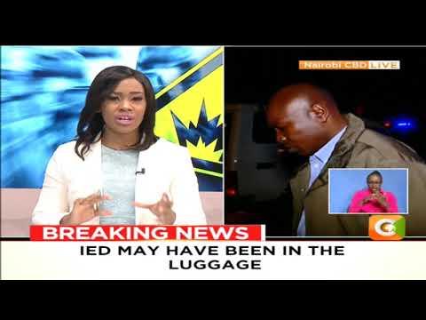 Nairobi CBD IED explosion