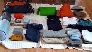 Inca Trail to Machu Picchu - What to Pack