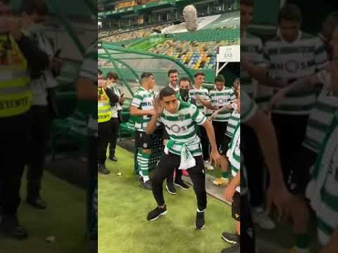 Welcome to Sporting Lisbon😂