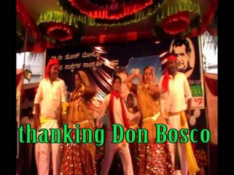 bosco bangalore, staff dance