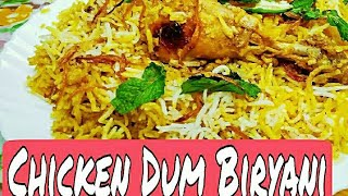 CHICKEN DUM BIRYANI || Original Lucknowi style || Unique and very Delicious Recipe * By zaika e Luck