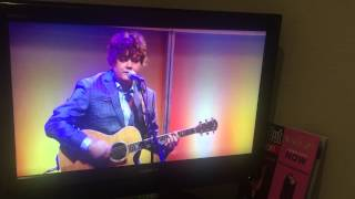 GET AWAY CAR  Ron Sexsmith with Steve Nieve on the Andrew Marr Show April19th 2015