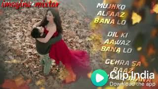 ❣️❣️Mujhko barsaat bana lo love song WhatsApp status 💗 💗  junooniyat movie song whatsapp status