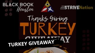 Black Book Houston ft. Strive Nation Thanksgiving Turkey Drive
