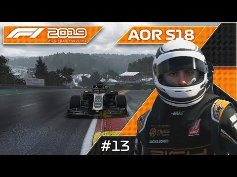 WE NEED TO WIN THIS RACE! F1 2019 AOR S18 XB1 F3 Round 13 Belgium GP!