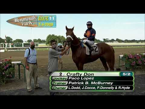 video thumbnail for MONMOUTH PARK 07-04-20 RACE 11