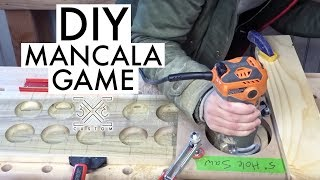 DIY Mancala Game // Woodworking // Router Project