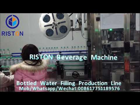 Mountain Spring Water Filling Production Line