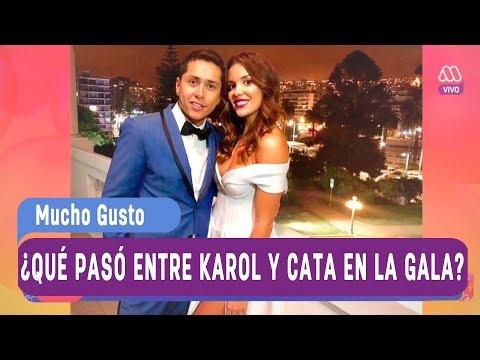 ¿Qué pasó entre Karol y Cata Vallejos en la Gala de Viña? - Mucho gusto 2018