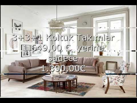 Koltuk Takımları Efelisan Müşterilerine özel 1649 Euro Yerine 1390