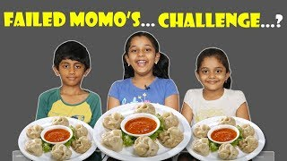 EPIC SPICY MOMOS EATING CHALLENGE FAILS / Kids VS Food