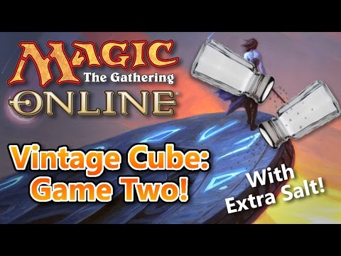 MTG - Vintage Cube Game Two! Magic: the Gathering Online!