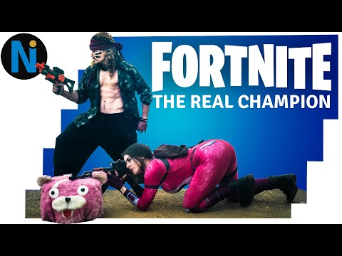 FORTNITE The Real Champion - Battle Royale REAL LIFE