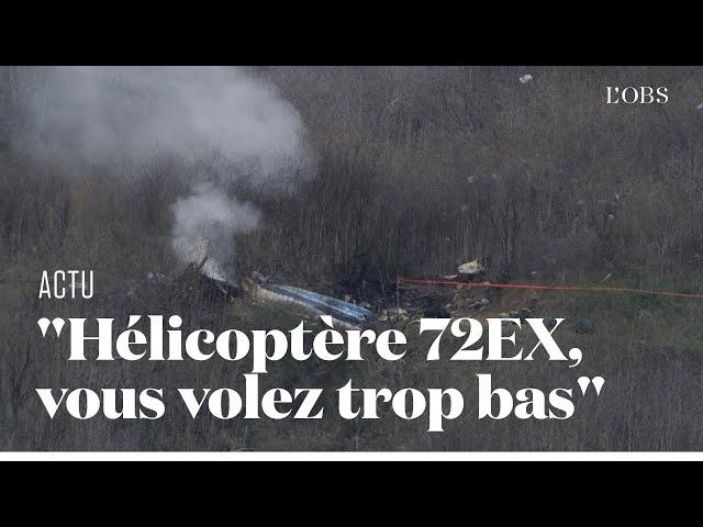 Le dernier échange audio entre l\'hélicoptère transportant Kobe Bryant et le contrôle aérien