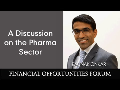 A Discussion on the Pharma Sector